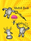 Sketch Book: For children / kids drawing doodling writing Cover Image