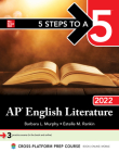 5 Steps to a 5: AP English Literature 2022 Cover Image