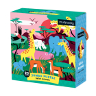 Safari Animals Jumbo Puzzle Cover Image
