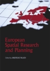 European Spatial Research and Planning Cover Image