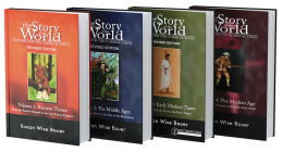 Story of the World, Text Bundle Hardcover: History for the Classical Child: Ancient Times through The Modern Age Cover Image