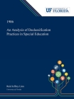 An Analysis of Declassification Practices in Special Education Cover Image