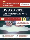 DSSSB DASS Grade II Exam 2021 Tier 1 Preparation Kit for Delhi Subordinate Service Selection Board 10 Full-length Mock Tests By EduGorilla Cover Image