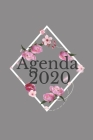 2020: planificateur mensuel annuel 2020 I organisateur mensuel I agenda hebdomadaire Cover Image