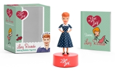 I Love Lucy: Lucy Ricardo Talking Bobble Figurine (RP Minis) Cover Image