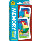 School Zone Memory Match Farm Card Game (Game Cards) Cover Image