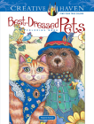 Creative Haven Best-Dressed Pets Coloring Book (Creative Haven Coloring Books) Cover Image