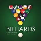 Billiards Calendar 2020: 16 Month Calendar Cover Image