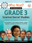 Who Was? Workbook: Grade 3 Social Science/Social Studies (Who Was? Workbooks) Cover Image