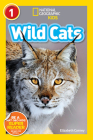 National Geographic Readers: Wild Cats (Level 1) Cover Image