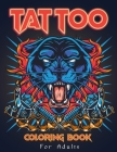 Tattoo Coloring Book Cover Image
