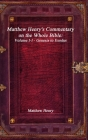 Matthew Henry's Commentary on the Whole Bible: Volume I-I - Genesis to Exodus Cover Image