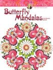 Creative Haven Butterfly Mandalas Coloring Book (Creative Haven Coloring Books) Cover Image