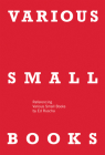 Various Small Books: Referencing Various Small Books by Ed Ruscha Cover Image