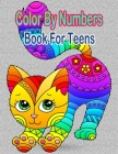 Color By Numbers Book For Teens: Unique Book For Teens Fan Of Legend Cover Image