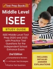 Middle Level ISEE Study Guide: ISEE Middle Level Test Prep 2020 and 2021 with Practice Test Questions for the Independent School Entrance Exam [2nd E Cover Image