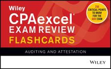 Wiley Cpaexcel Exam Review 2020 Flashcards: Auditing and Attestation Cover Image