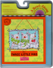 The Three Little Pigs Book & CD (Paul Galdone Classics) Cover Image