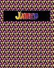 120 Page Handwriting Practice Book with Colorful Alien Cover Jared: Primary Grades Handwriting Book Cover Image