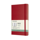 Moleskine 2022  Weekly Planner, 12M, Large, Scarlet Red , Hard Cover (5 x 8.25) Cover Image
