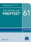 The Official LSAT Preptest 61: (oct. 2010 Lsat) Cover Image
