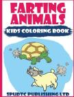 Farting Animals: Kids Coloring Book Cover Image