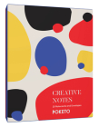 Creative Notes: 20 Notecards and Envelopes (Greeting Cards with Colorful Geometric Designs, Minimalist Everyday Blank Stationery for a Creative Lifestyle) Cover Image