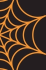 Spooky Halloween Notebook: Spider Web Notebook Cover Image
