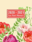 2020-2021 Two Year Planner: 2020-2021 monthly planner full size - 24-Month Planner & Calendar Size: 8.5