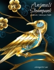 Animali Steampunk Libro da Colorare per Adulti Cover Image