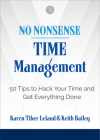 No Nonsense: Time Management: 50 Tips to Hack Your Time and Get Everything Done Cover Image