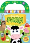 Color & Go Farm [With Crayons] Cover Image