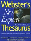 Webster's New Explorer Thesaurus Cover Image