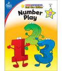 Number Play, Grade K: Gold Star Edition (Home Workbooks: Gold Star Edition) Cover Image
