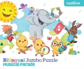 Bilingual Jumbo Puzzle: Musical Parade Cover Image