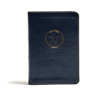 CSB Military Bible, Navy Blue LeatherTouch Cover Image