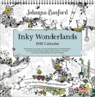 Johanna Basford 2021 Coloring Wall Calendar: Inky Wonderlands Cover Image