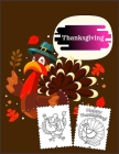 Thanksgiving: Coloring Book for Kids with Fun, Easy, and Relaxing High-quality images Cover Image