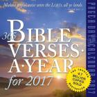 365 Bible Verses-A-Year Page-A-Day Calendar 2017 Cover Image