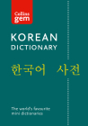 Collins Gem Korean Dictionary Cover Image