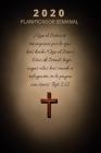 Planificador Y Organizador Semanal 2020 Con Citas Inspiradoras De La Biblia: Agenda Del Calendario Con Versículos Bíblicos Para Cristianos ( Cotizació Cover Image