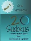 20 Sudokus: Casse-Têtes pour des moments de plaisir (Easy... #7) Cover Image