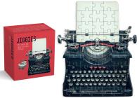 Typewriter Jiggie: Die-Cut 86-Piece Jigsaw Puzzle Cover Image