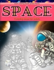 Adult coloring books space theme, space coloring book for adults: adult coloring books for men Cover Image