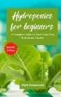 Hydroponics for Beginners: A Complete Guide to Start Your Own Hydroponic Garden Cover Image