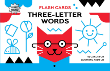 Bright Sparks Flash Cards - Three-Letter Words Cover Image