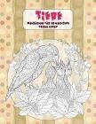Malbücher für Erwachsene - Dicke Linien - Tiere Cover Image
