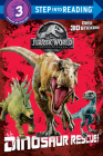 Dinosaur Rescue! (Jurassic World: Fallen Kingdom) (Step into Reading) Cover Image