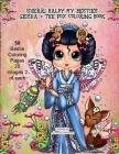 Sherri Baldy My Besties Geisha & the Fox Coloring Book Cover Image