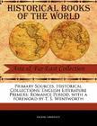 English Literature Primers: Romance Period (Primary Sources) Cover Image